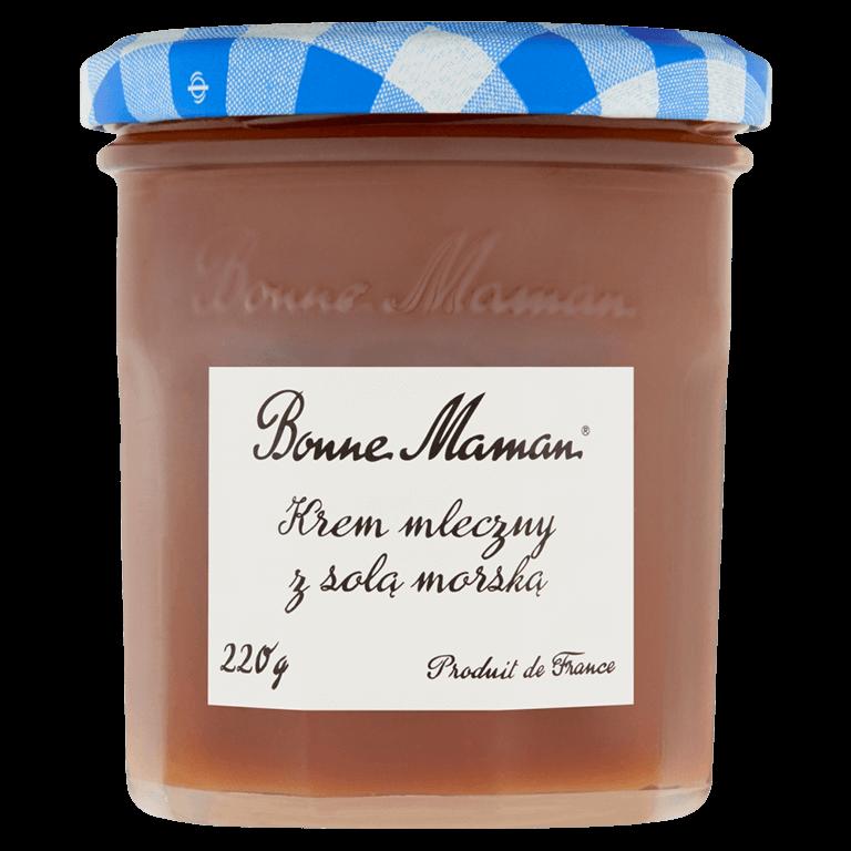 Aksamitne Kremy Bonne Maman Krem mleczny z solą morską