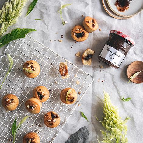 Muffinki z konfiturą figową