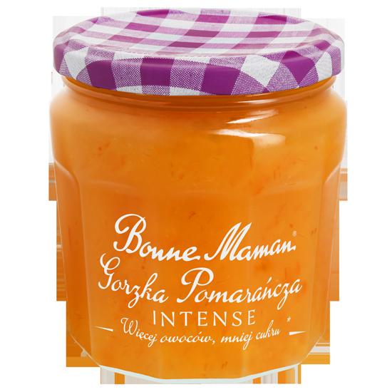 Intensywnie owocowa Bonne Maman Gorzka Pomarańcza